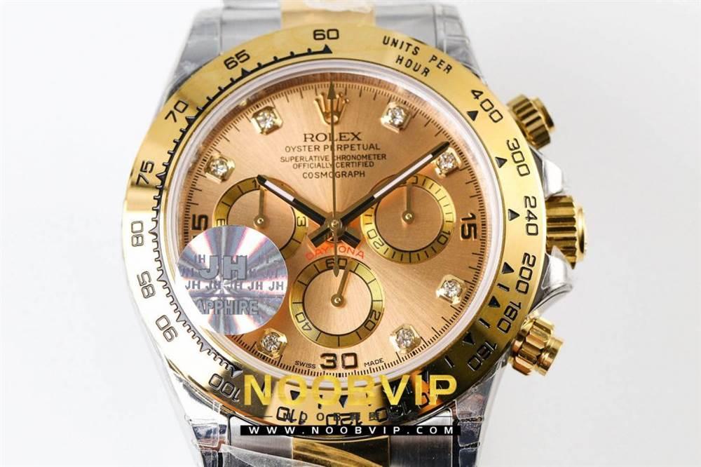 JH厂劳力士迪通拿116523-78593香槟金腕表首发详解 第5张