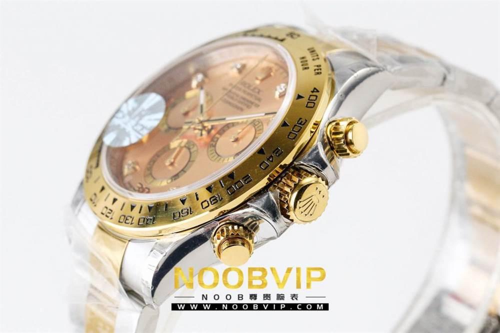 JH厂劳力士迪通拿116523-78593香槟金腕表首发详解 第6张