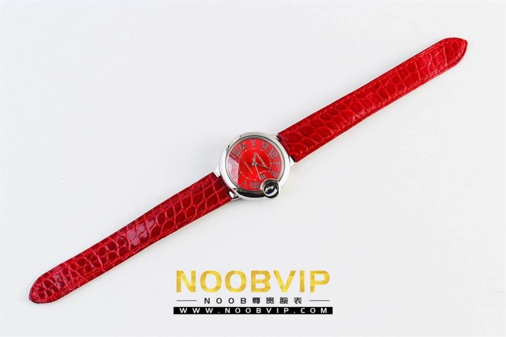 V6厂卡地亚蓝气球中国红系列WSBB0022腕表首发-V6厂最强中国红 第2张
