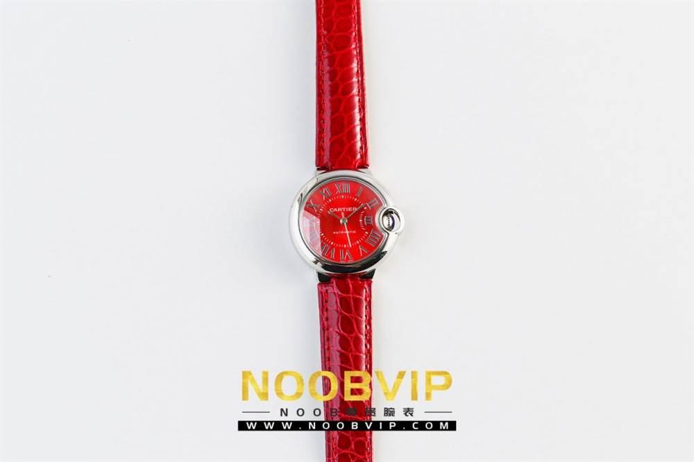 V6厂卡地亚蓝气球中国红系列WSBB0022腕表首发-V6厂最强中国红 第3张