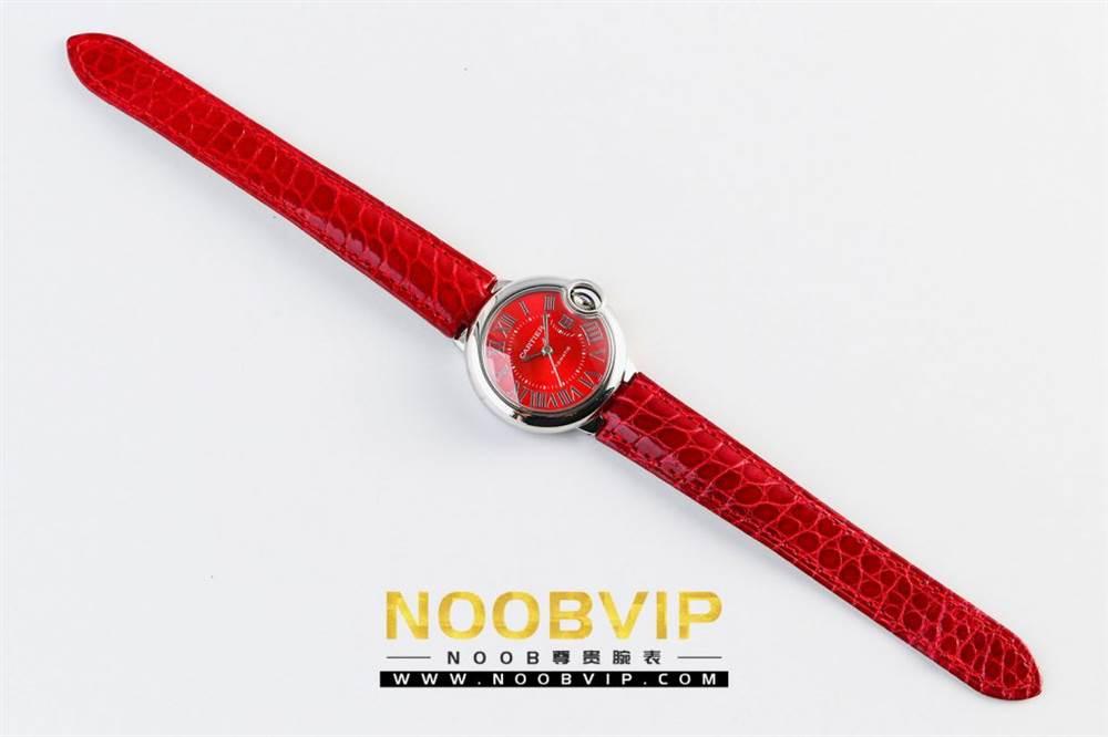 V6厂卡地亚蓝气球中国红系列WSBB0022腕表首发-V6厂最强中国红 第4张