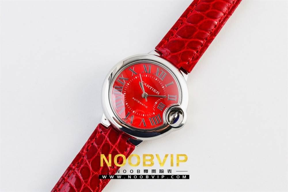 V6厂卡地亚蓝气球中国红系列WSBB0022腕表首发-V6厂最强中国红 第5张
