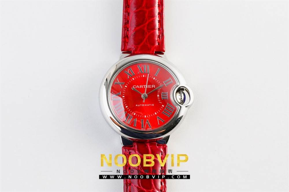 V6厂卡地亚蓝气球中国红系列WSBB0022腕表首发-V6厂最强中国红 第6张