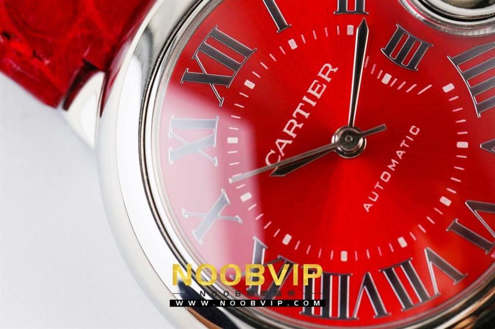 V6厂卡地亚蓝气球中国红系列WSBB0022腕表首发-V6厂最强中国红 第9张