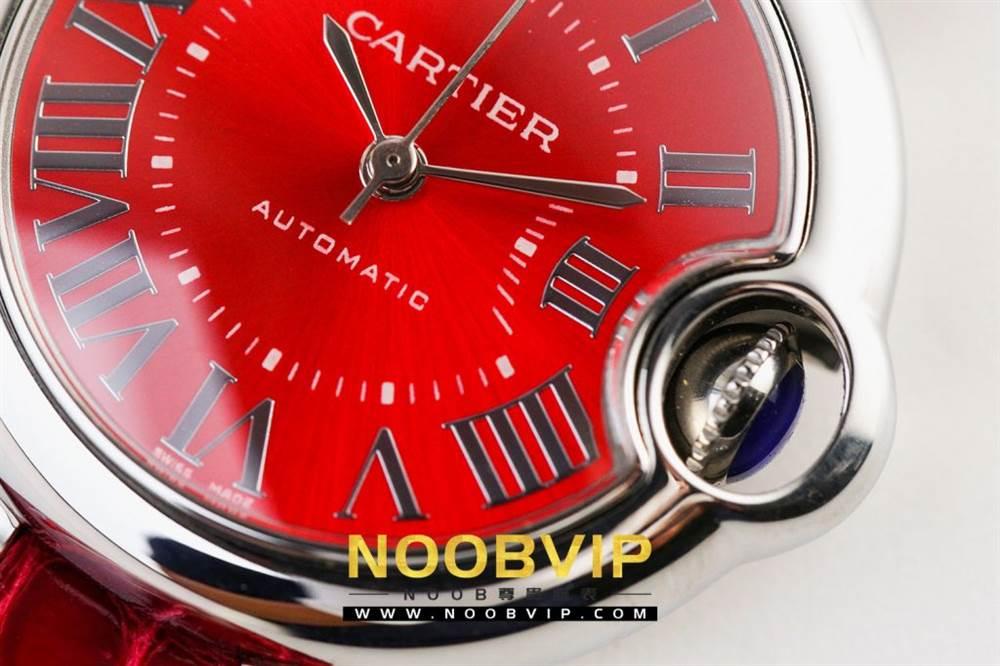 V6厂卡地亚蓝气球中国红系列WSBB0022腕表首发-V6厂最强中国红 第10张