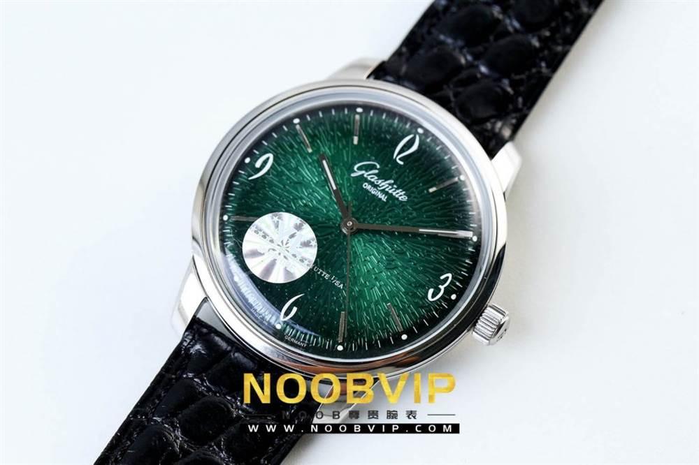YL厂格拉苏蒂原创复古系列绿盘腕表首发详解 第2张