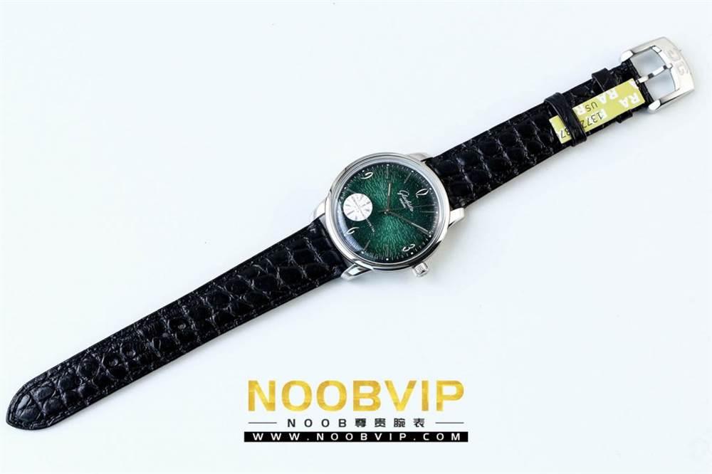 YL厂格拉苏蒂原创复古系列绿盘腕表首发详解 第11张