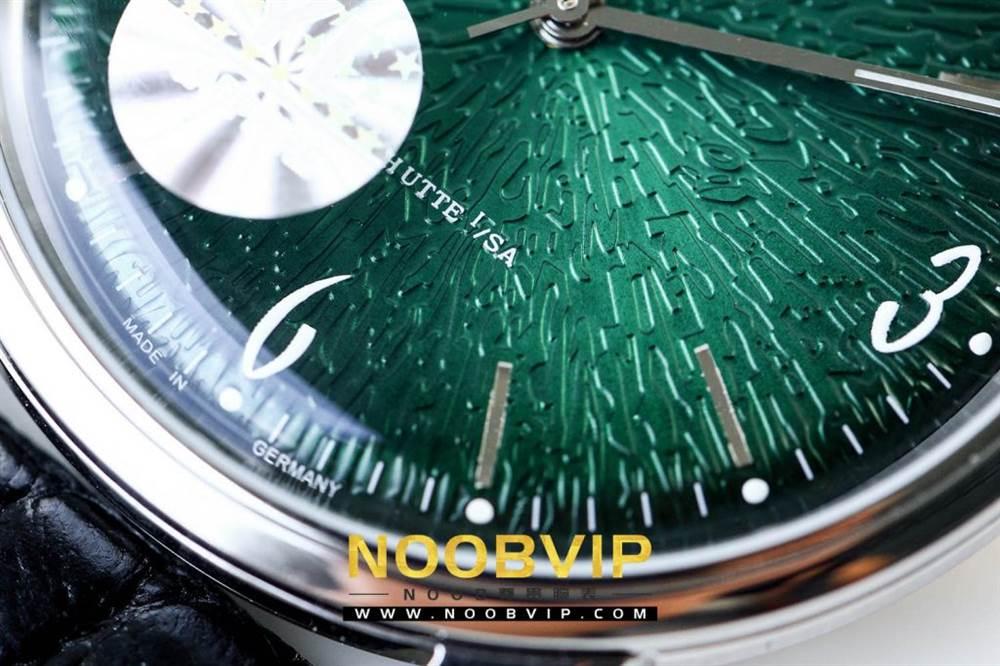 YL厂格拉苏蒂原创复古系列绿盘腕表首发详解 第14张