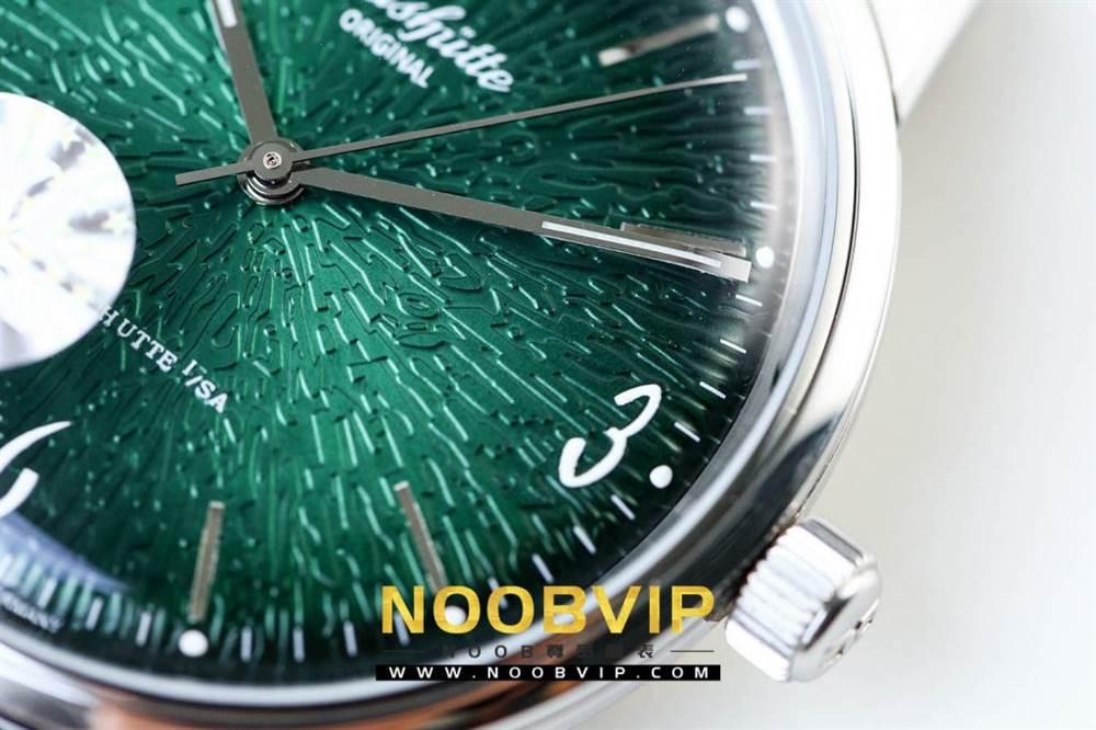 YL厂格拉苏蒂原创复古系列绿盘腕表首发详解 第15张