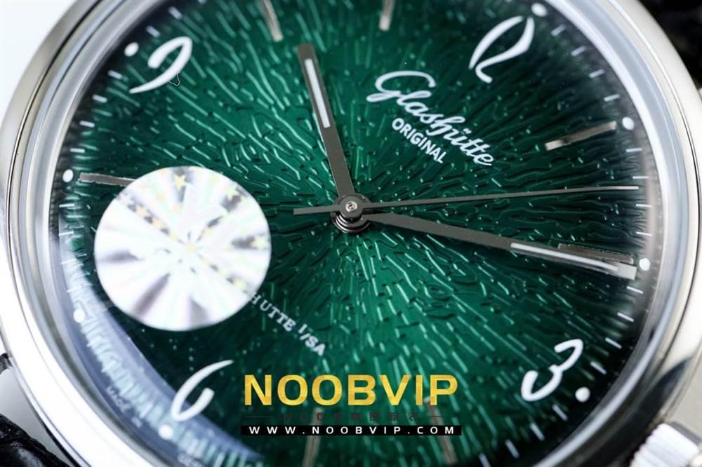 YL厂格拉苏蒂原创复古系列绿盘腕表首发详解 第16张