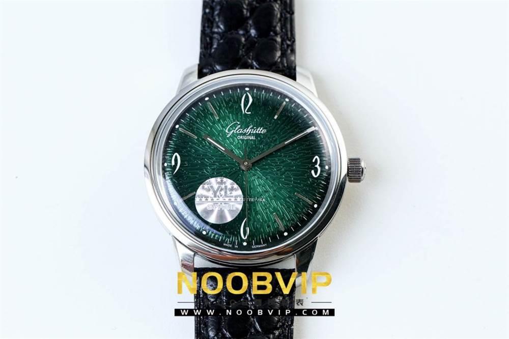 YL厂格拉苏蒂原创复古系列绿盘腕表首发详解 第3张