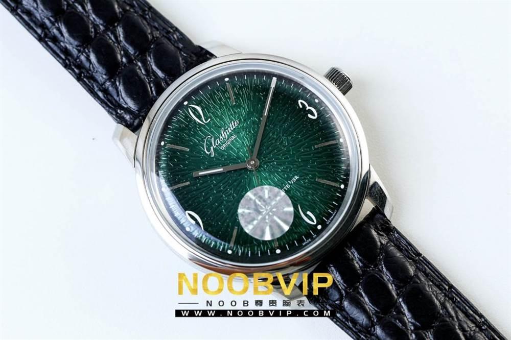 YL厂格拉苏蒂原创复古系列绿盘腕表首发详解 第4张
