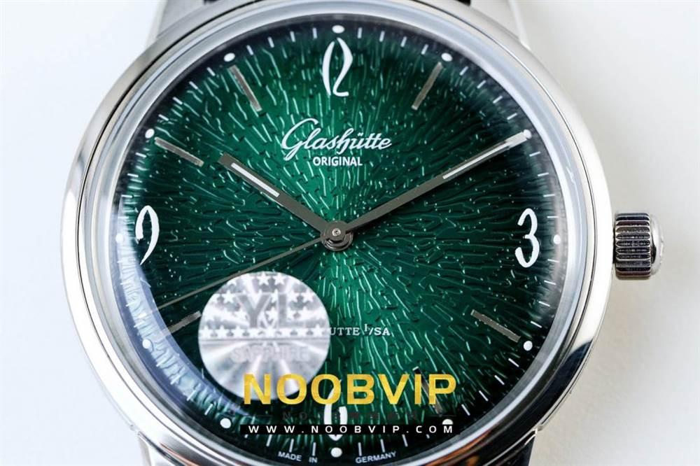 YL厂格拉苏蒂原创复古系列绿盘腕表首发详解 第5张