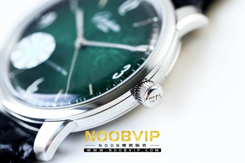 YL厂格拉苏蒂原创复古系列绿盘腕表首发详解 第6张