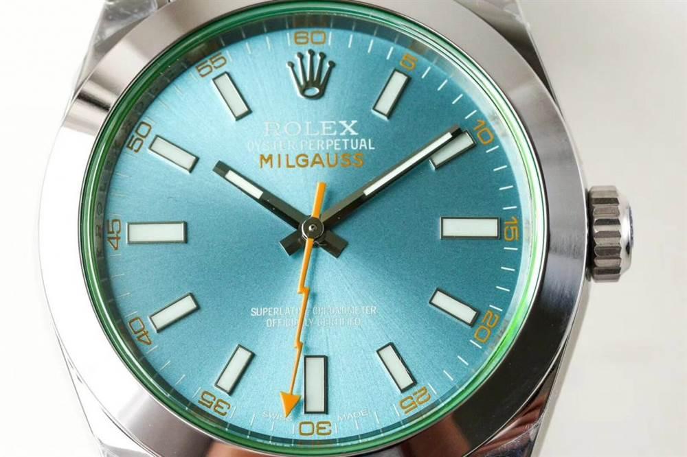 DJ厂劳力士MILGAUSS系列116400-GV-72400闪电针腕表首发详解 第3张