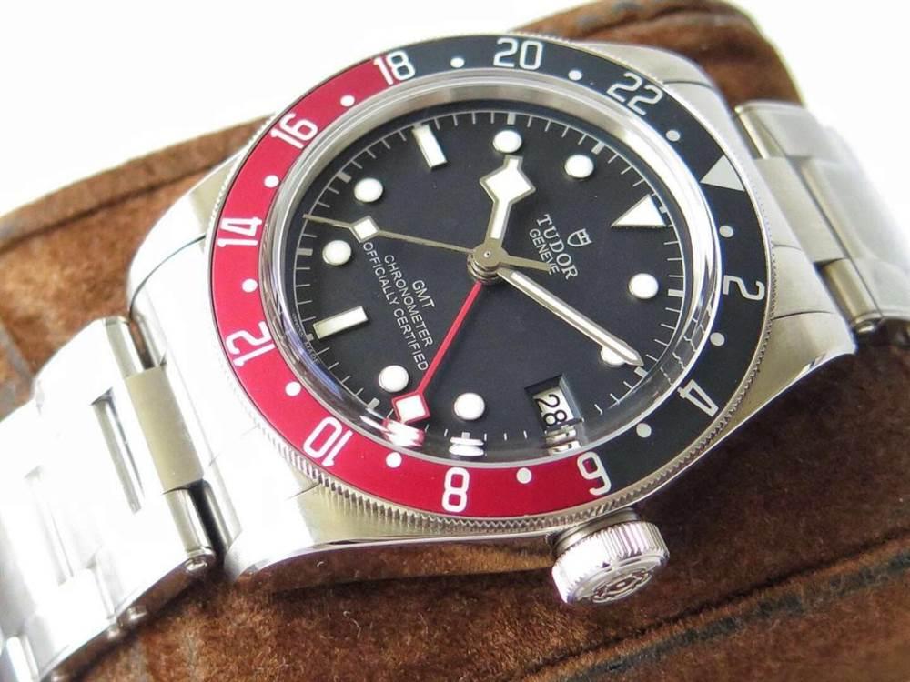 ZF厂帝舵碧湾系列M79830RB-0001红蓝圈腕表首发 第4张