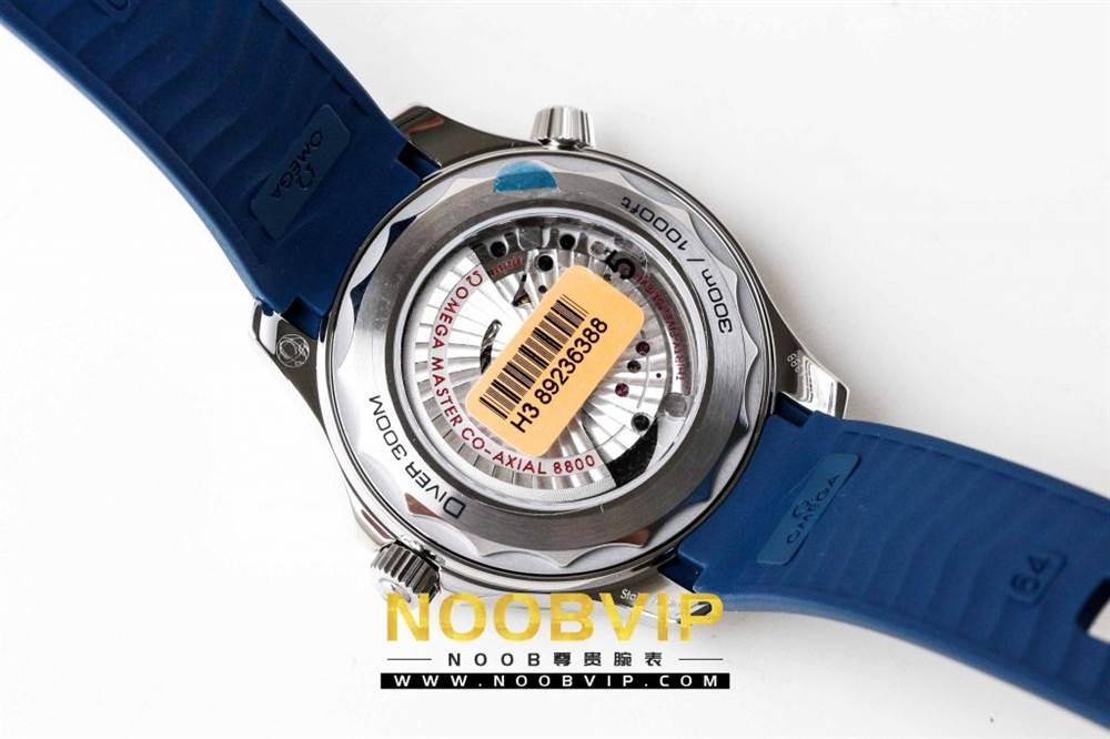 VS厂欧米茄海马300银灰色面潜水腕表首发详解 第20张