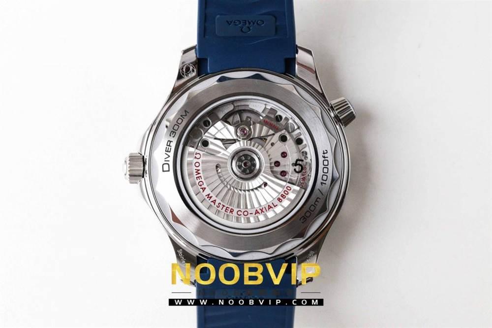 VS厂欧米茄海马300银灰色面潜水腕表首发详解 第21张