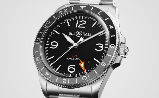 Bell&Ross BR V2-93 GMT手表 第5张