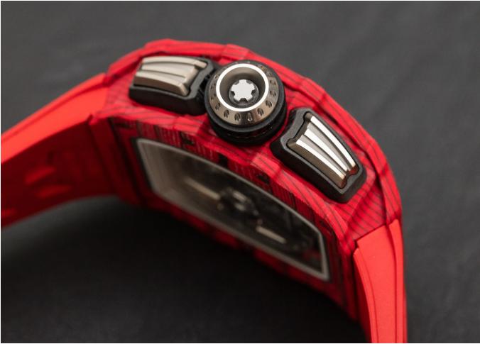 Richard Mille RM 11-03自动反激计时码表红色石英FQ TPT手表 第7张