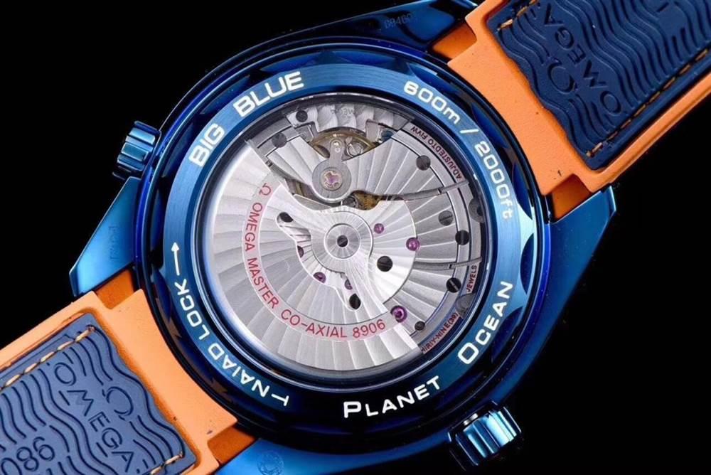 JH厂欧米茄海马600系列碧海之蓝腕表首发详解 第9张