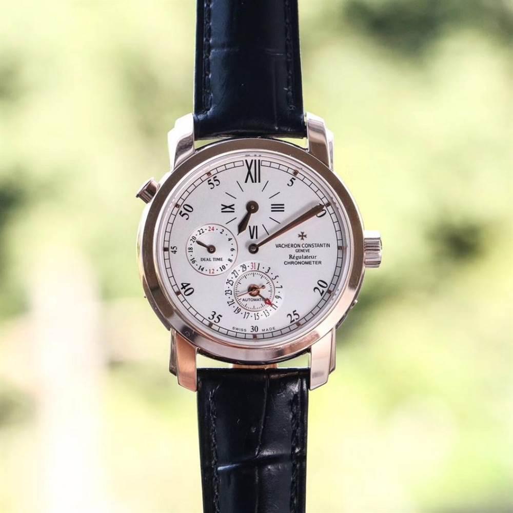 江诗丹顿马耳他系列42005两地时腕表首发详解 第3张