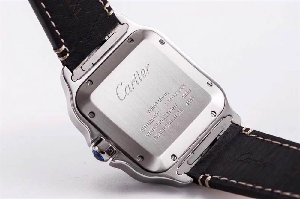 KOR厂卡地亚山度士系列WSSA0009(大号)腕表首发 第9张