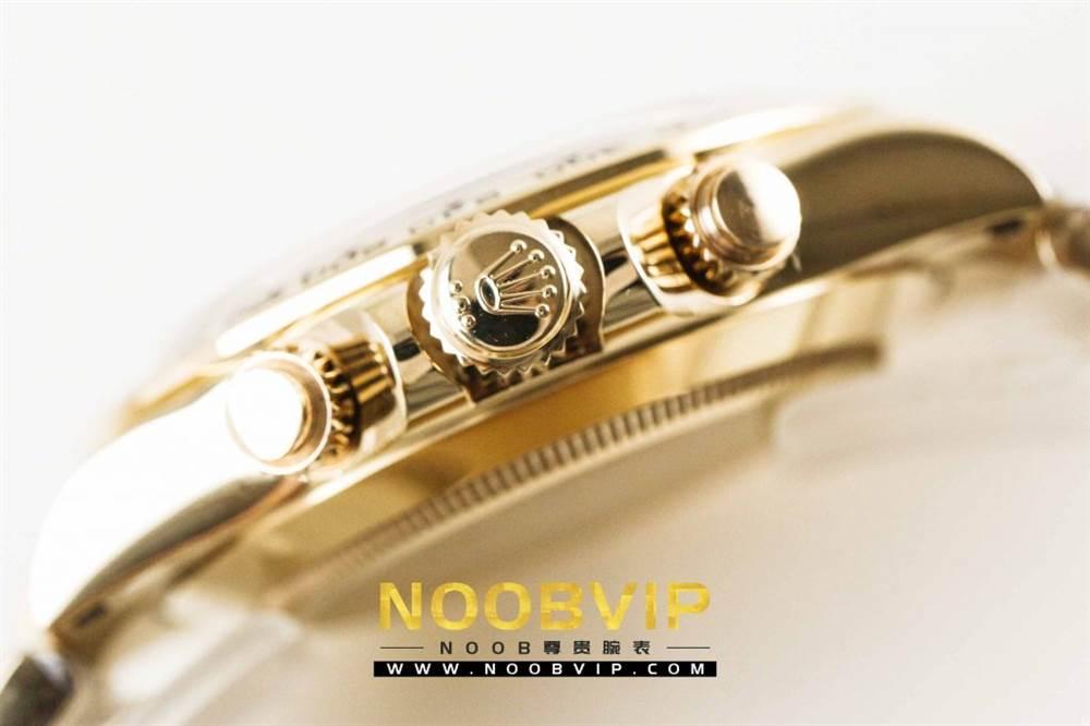 AR厂劳力士宇宙计型迪通拿系列116508黑盘腕表「最新版本」做工如何