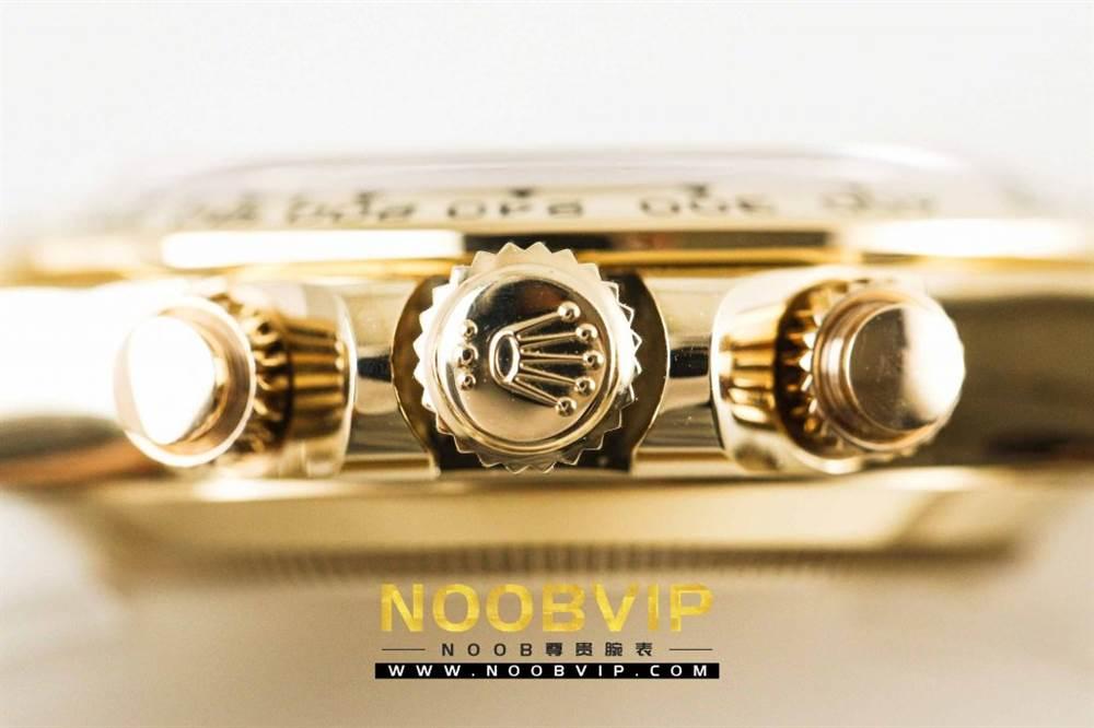 AR厂劳力士宇宙计型迪通拿系列116508黑盘腕表「最新版本」做工如何 第14张
