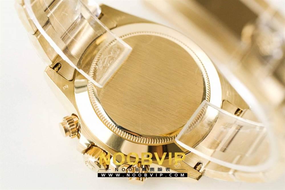 AR厂劳力士宇宙计型迪通拿系列116508黑盘腕表「最新版本」做工如何 第16张
