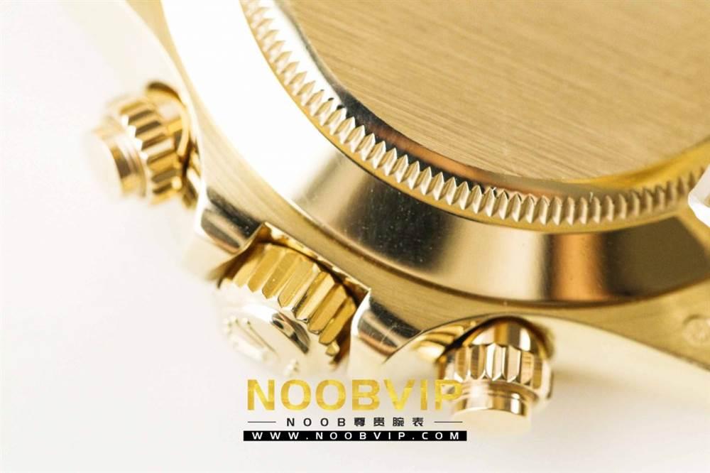 AR厂劳力士宇宙计型迪通拿系列116508黑盘腕表「最新版本」做工如何 第17张