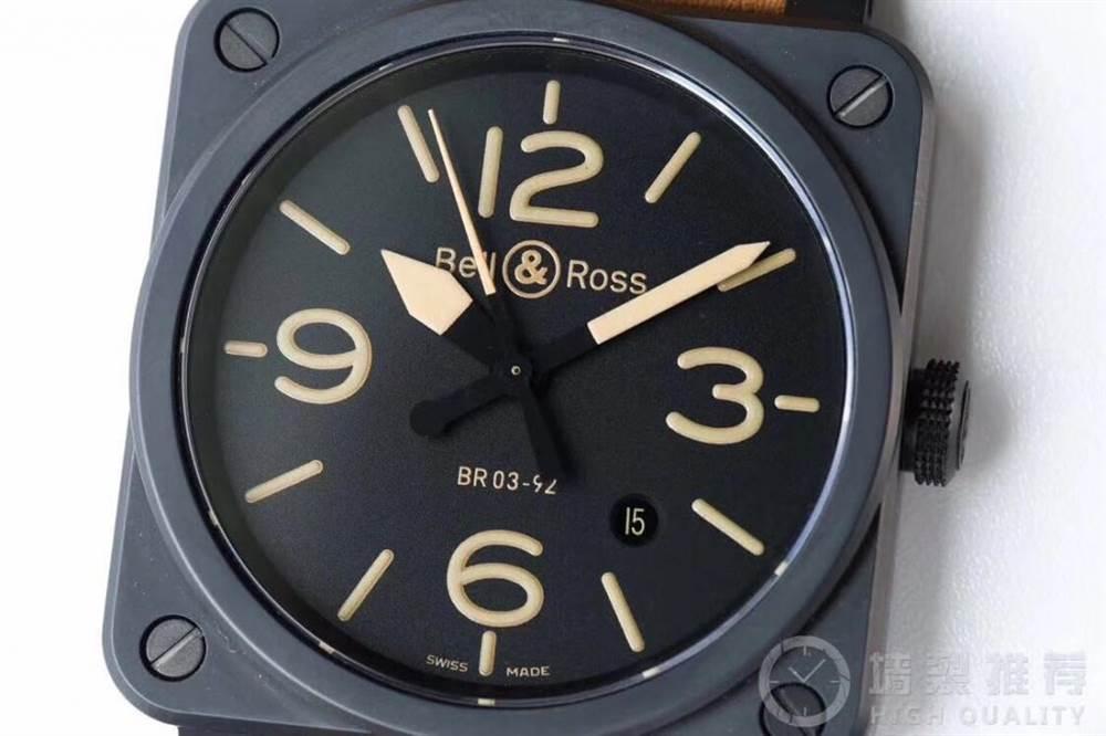BR厂柏莱士INSTRUMENTS系列BR0392腕表首发详解 第5张