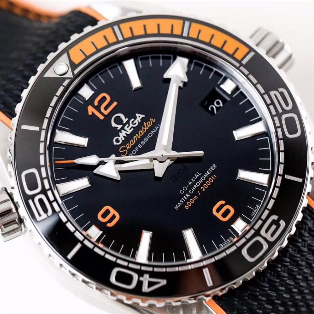 VS厂欧米茄海马600四分之一橙215.32.44.21.01.001腕表首发详解 第3张