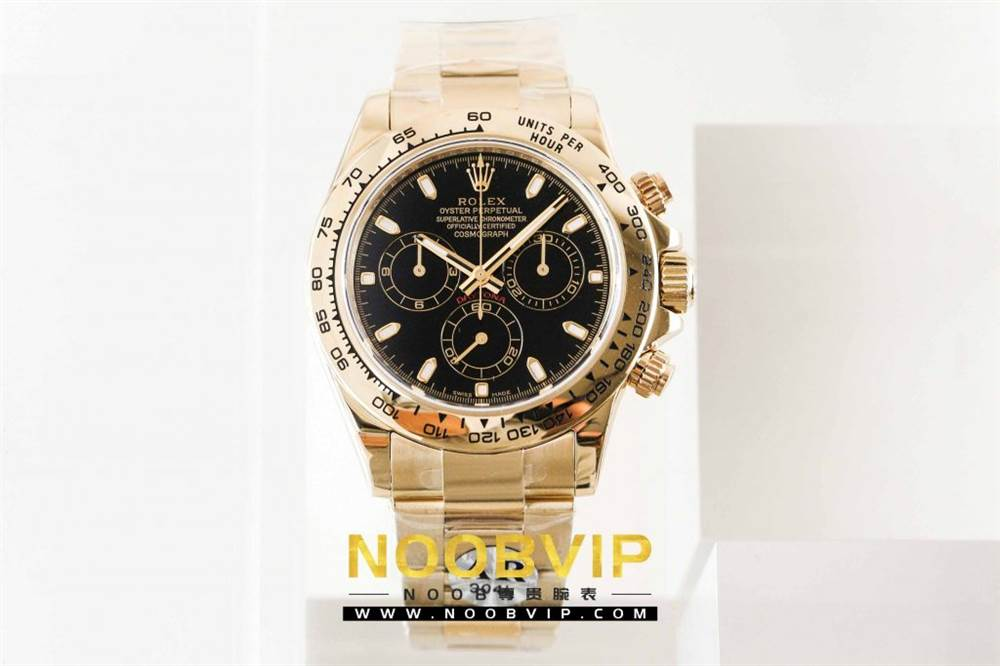 AR厂劳力士宇宙计型迪通拿系列116508黑盘腕表「最新版本」做工如何 第6张