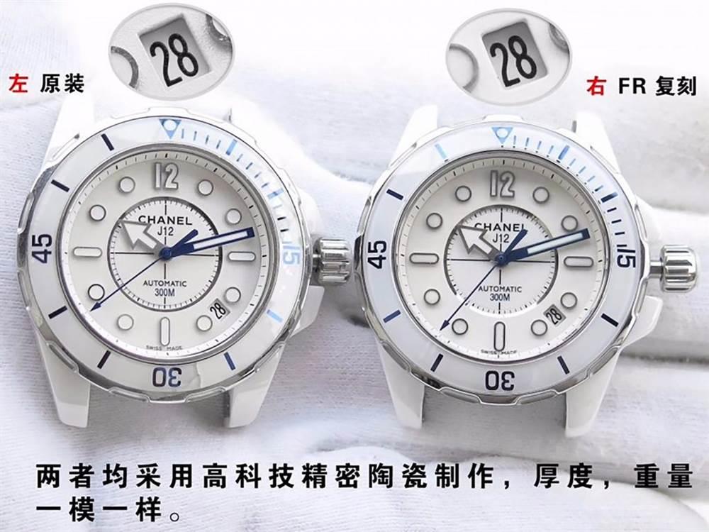 FR厂香奈儿J12系列H2560对比正品评测-CHANEL-J12-H2560 第6张