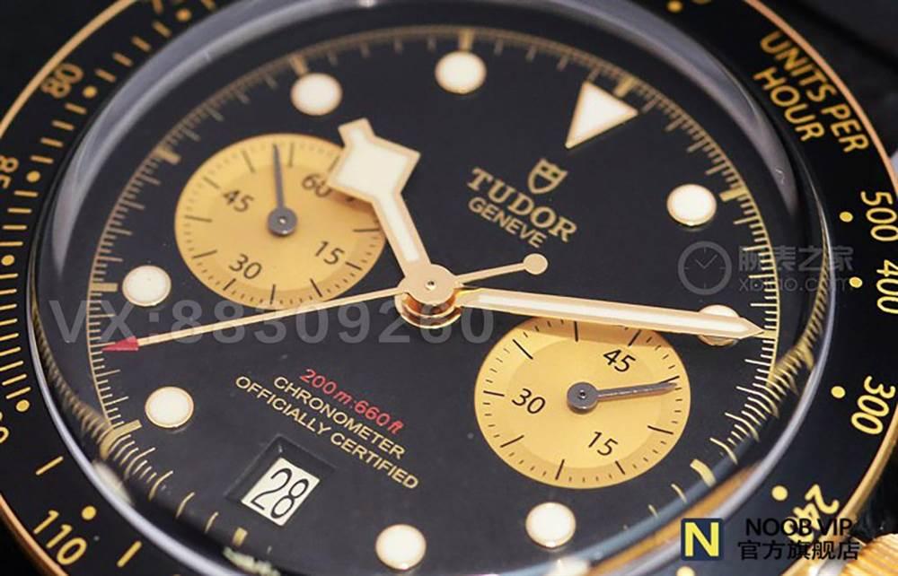 XF厂超越小铜花的新爆款-帝舵黑铜花碧湾系列M79363N-0002腕表 第4张