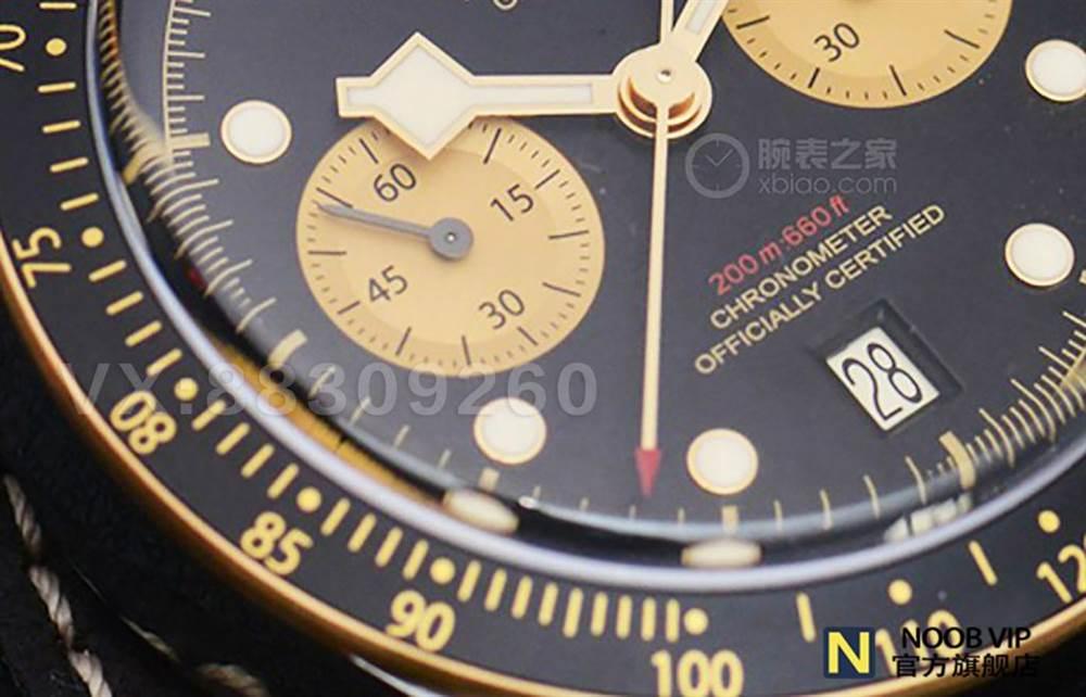 XF厂超越小铜花的新爆款-帝舵黑铜花碧湾系列M79363N-0002腕表 第5张
