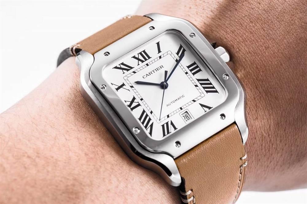 KOR厂卡地亚山度士系列WSSA0009(大号)腕表首发 第6张