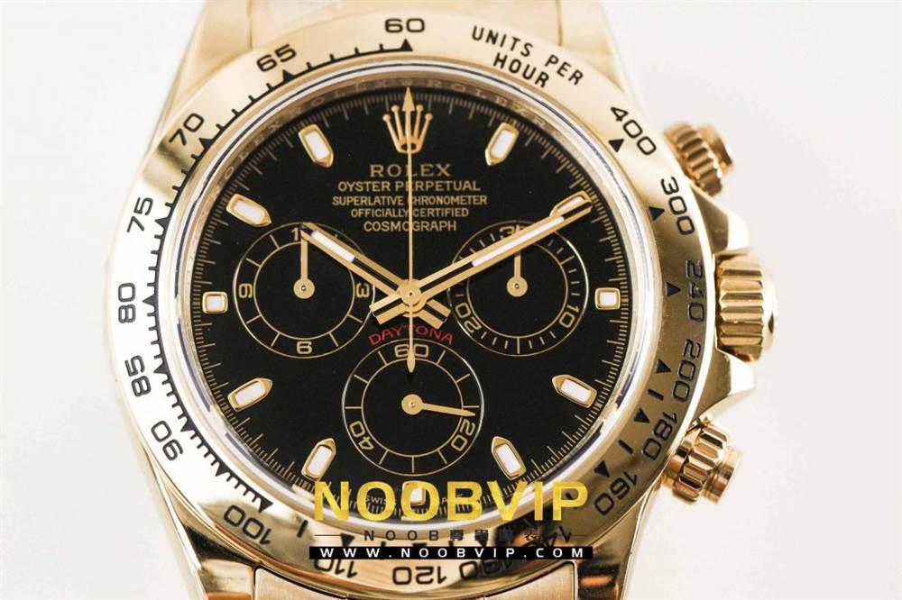 AR厂劳力士宇宙计型迪通拿系列116508黑盘腕表「最新版本」做工如何 第7张