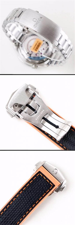 VS厂欧米茄海马600四分之一橙215.32.44.21.01.001腕表首发详解 第10张