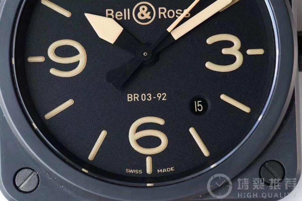 BR厂柏莱士INSTRUMENTS系列BR0392腕表首发详解 第6张