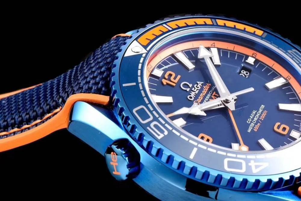 JH厂欧米茄海马600系列碧海之蓝腕表首发详解 第7张