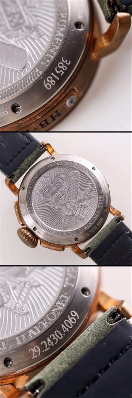 XF厂真力时飞行员系列29.2430.4069/21.C800青铜咖啡骑士腕表首发详解 第9张
