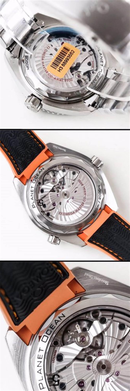 VS厂欧米茄海马600四分之一橙215.32.44.21.01.001腕表首发详解 第9张