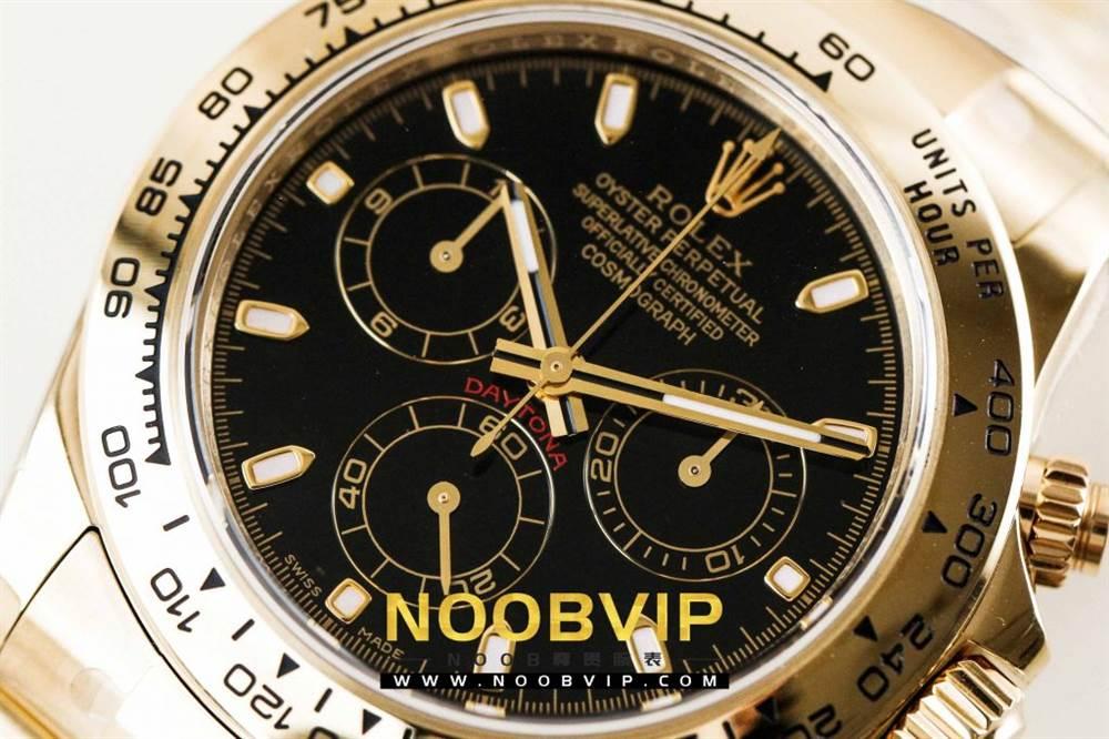 AR厂劳力士宇宙计型迪通拿系列116508黑盘腕表「最新版本」做工如何 第8张