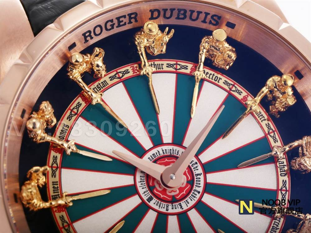 ZZ厂罗杰杜彼圆桌骑士棋盘面ROGERDUBUIS-EXCALIBUR王者系列RDDBEX0398腕表评测