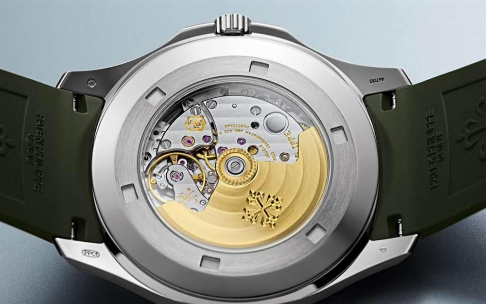 新百达翡丽Aquanaut 5168G-绿色版本腕表回归 第5张