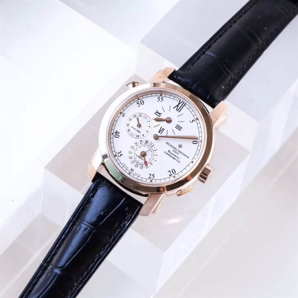 江诗丹顿马耳他系列42005两地时腕表首发详解 第2张