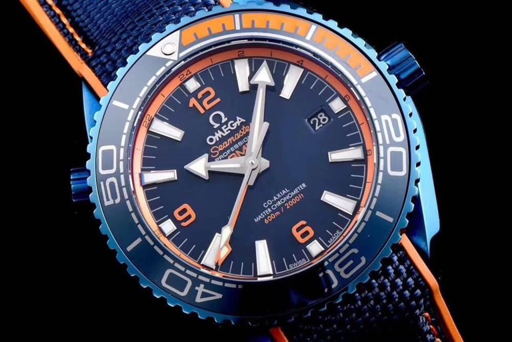 JH厂欧米茄海马600系列碧海之蓝腕表首发详解 第3张