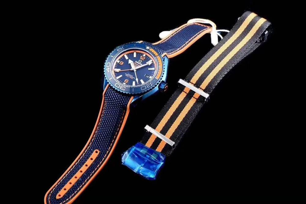 JH厂欧米茄海马600系列碧海之蓝腕表首发详解 第4张